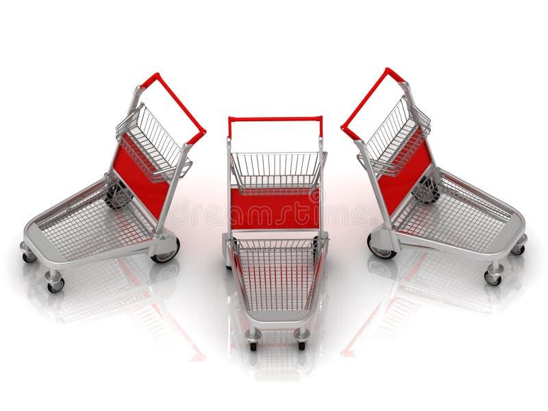 Download Three Carts On Wheels Stock Image - Image: 29997881