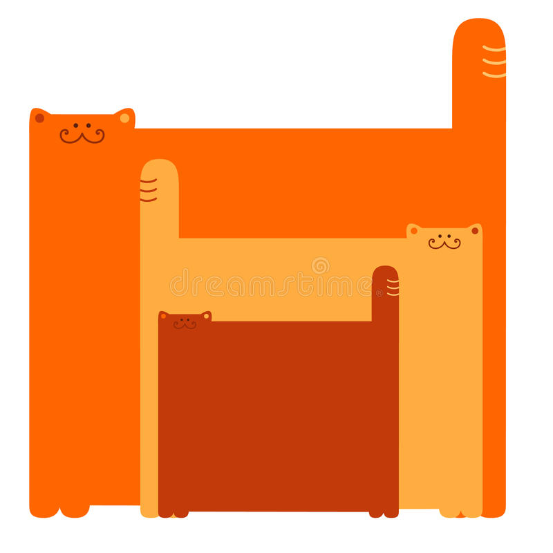 Download Three Cats Royalty Free Stock Image - Image: 12933876