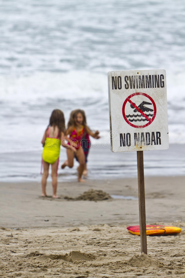 Download Three Children Playing On Beach Editorial Photography - Image: 21295067