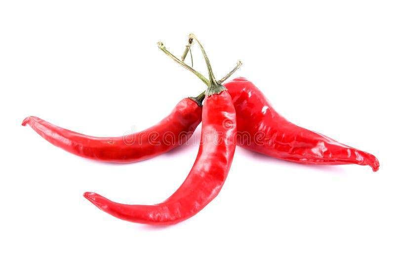 Three Chilis Stock Photos