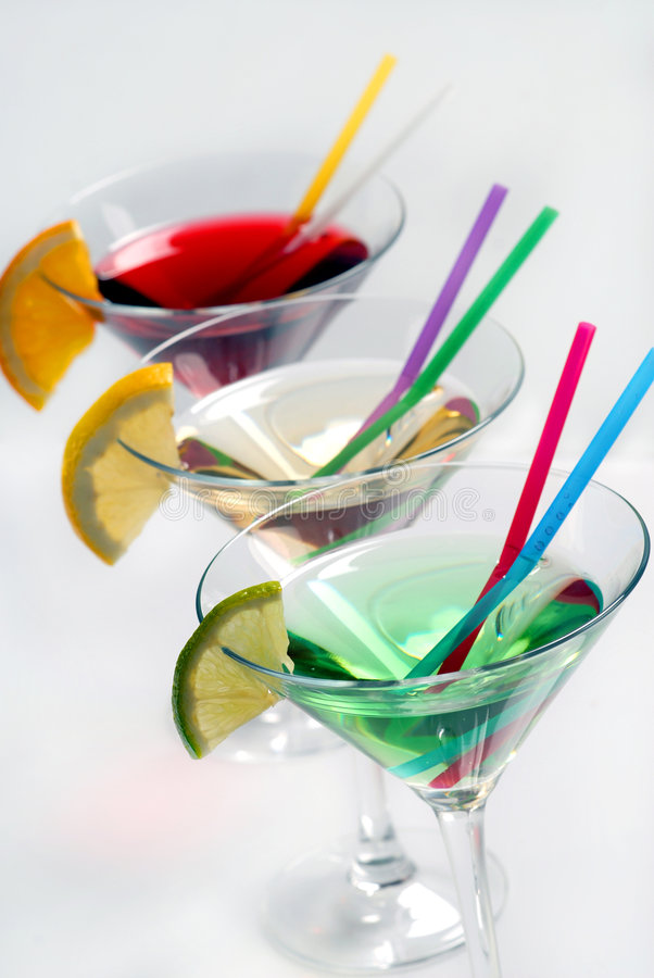 Download Three cocktails stock photo. Image of alcohol, background - 8714324