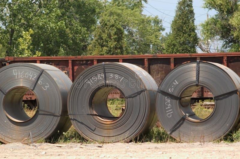 Three coils stock photos
