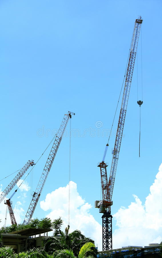 Download Three Cranes Stock Photo - Image: 32235370