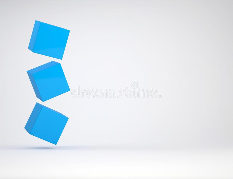 Download Three Cube Royalty Free Stock Image - Image: 28504576