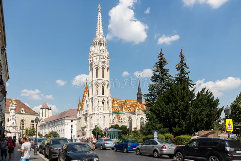 Matthias Church in Hungary and Budapest. Three Days in Hungary and Budapest, at Central Europe royalty free stock photos