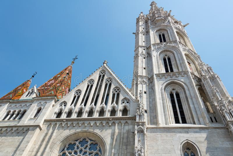 Matthias Church in Hungary and Budapest. Three Days in Hungary and Budapest, at Central Europe stock photography