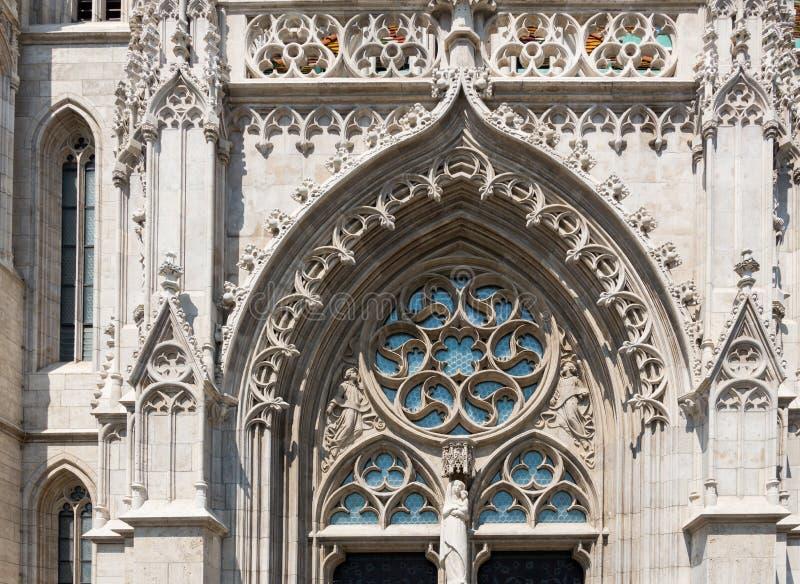 Matthias Church in Hungary and Budapest. Three Days in Hungary and Budapest, at Central Europe stock image