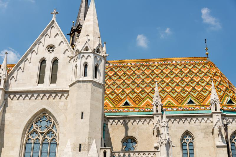 Matthias Church in Hungary and Budapest. Three Days in Hungary and Budapest, at Central Europe royalty free stock images