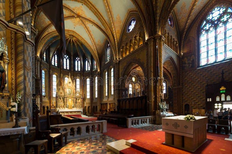 Matthias Church in Hungary and Budapest. Three Days in Hungary and Budapest, at Central Europe stock photo