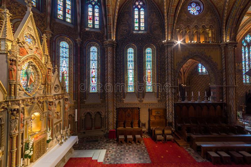 Matthias Church in Hungary and Budapest. Three Days in Hungary and Budapest, at Central Europe stock images