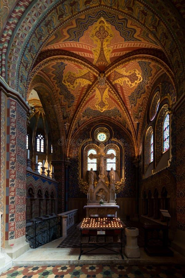 Matthias Church in Hungary and Budapest. Three Days in Hungary and Budapest, at Central Europe royalty free stock photo