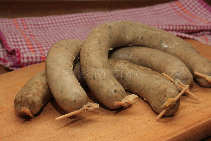 Download Three Delicious Sausage Stock Photo - Image: 83711290