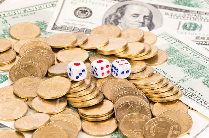 Download Three dice stock photo. Image of money, business, success - 23561554