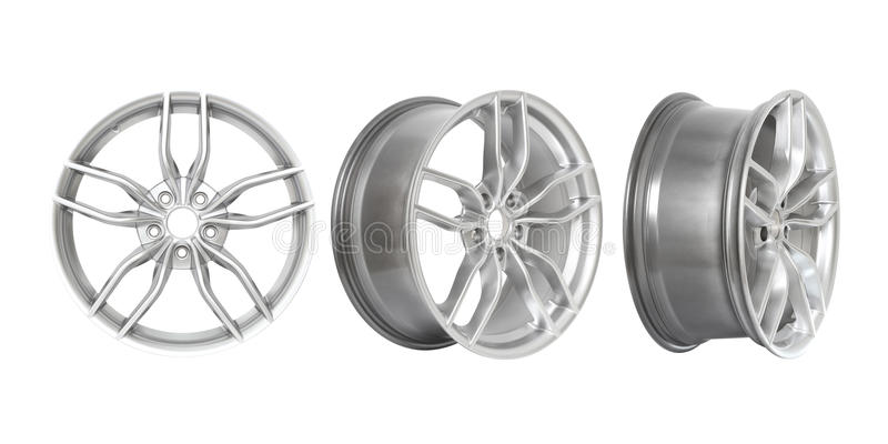 Download Three Different Angles Rims Royalty Free Stock Photos - Image: 35311598