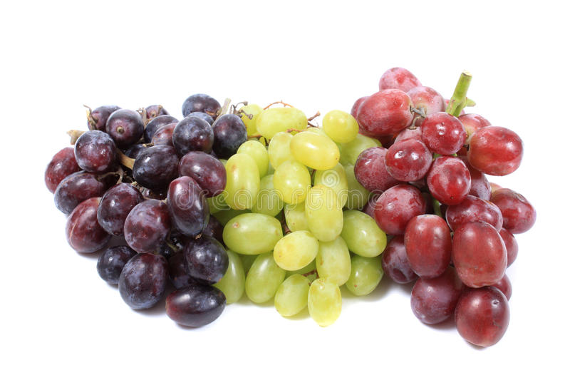 Download Three Different Types Of Grapes Stock Image - Image: 21341195