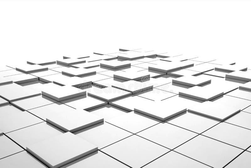 Download Three-dimensional design stock illustration. Illustration of mosaic - 25371383