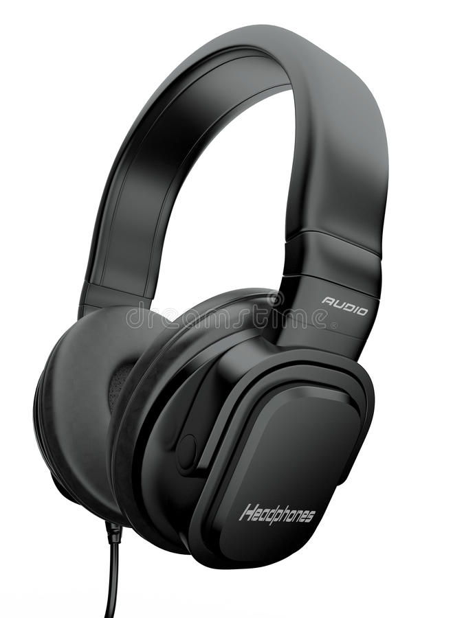 Download Three-dimensional Headphones. 3d Stock Photos - Image: 21502753