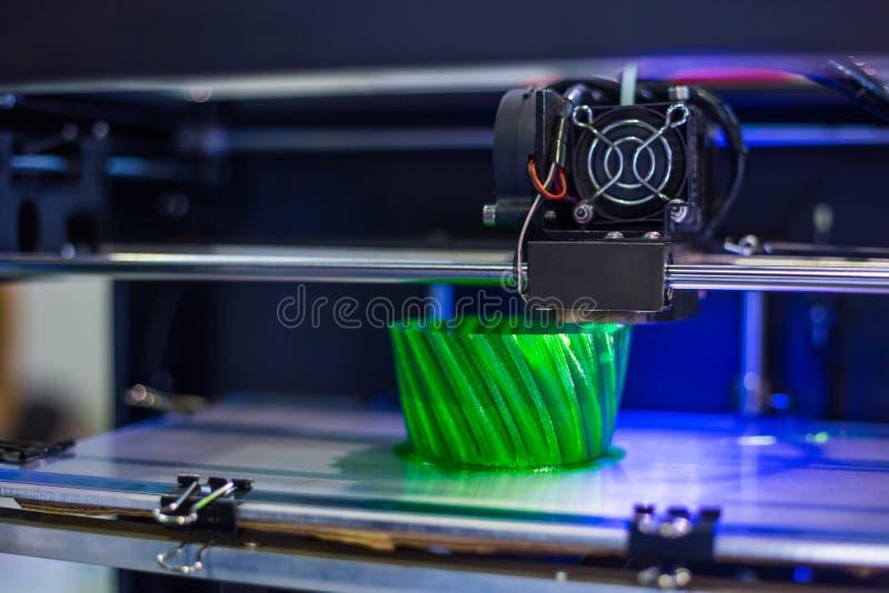 3D printer during work royalty free stock photo