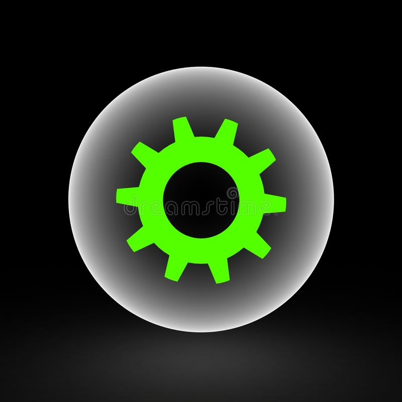 Download Three-dimensional  Toothed Wheels Stock Illustration - Illustration: 33411051