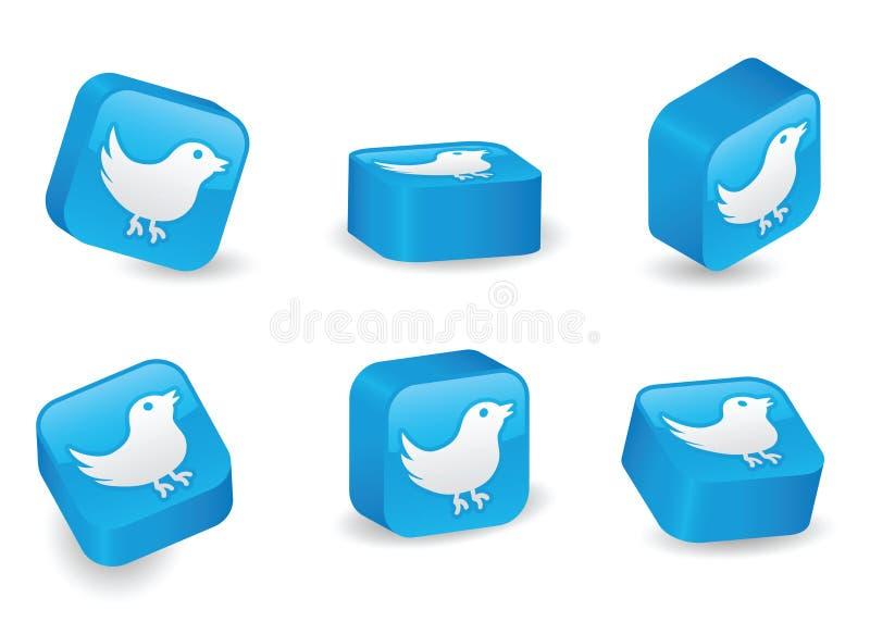 Download Three-Dimensional Twitter Blocks Editorial Stock Image - Image: 16517624