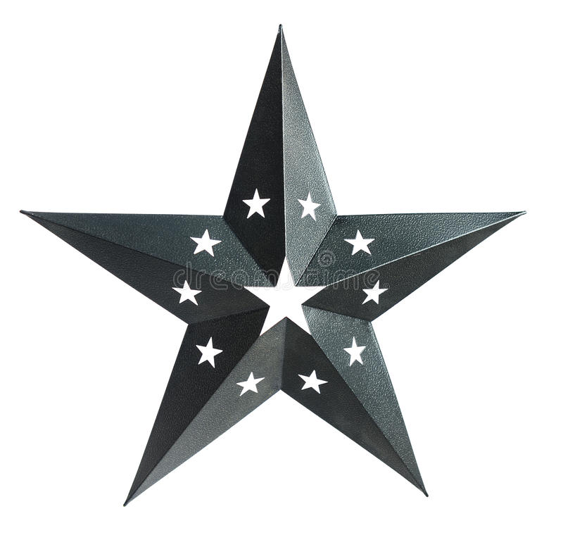 Three Dimentional Star Royalty Free Stock Photography