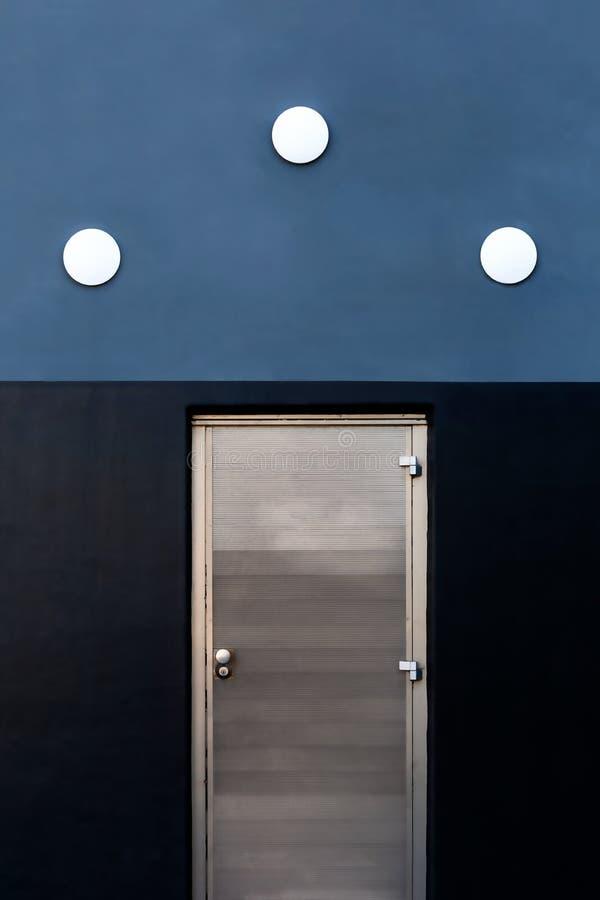 Three dots on a wall royalty free stock photo
