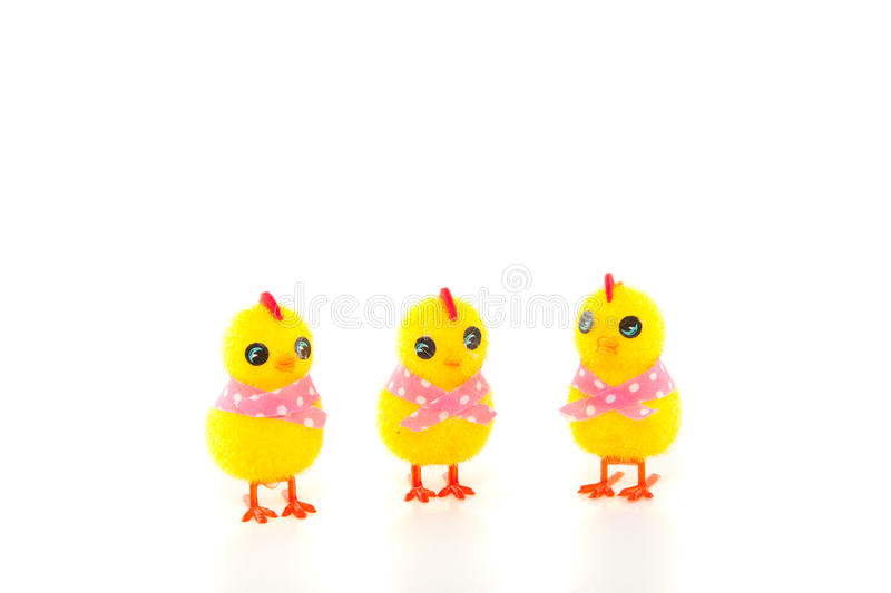 Download Three Easter Chicks Royalty Free Stock Image - Image: 18672286