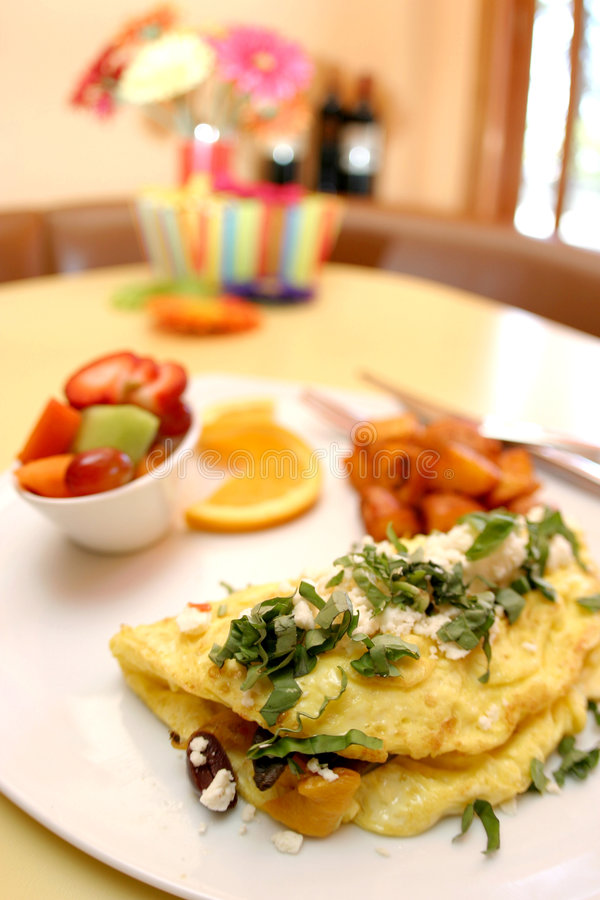 Free Three Egg Omelette Royalty Free Stock Photos - 4012458