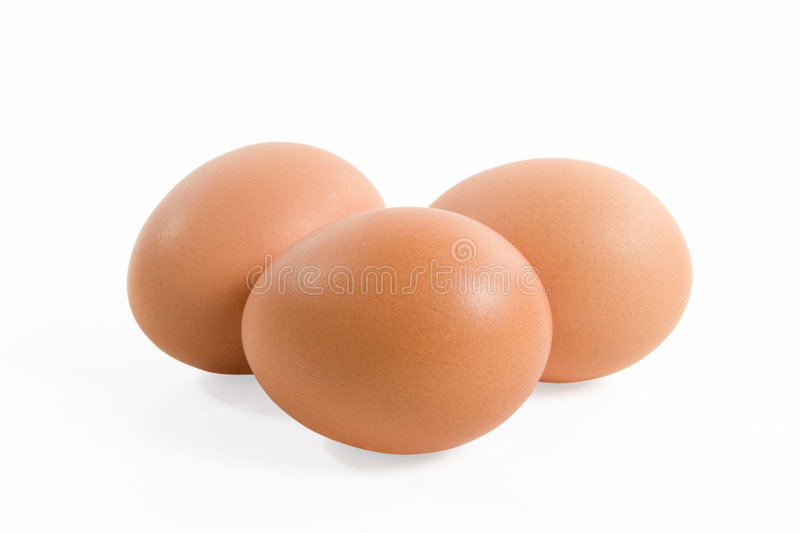 Download Three eggs stock photo. Image of three, animal, objects - 3926714