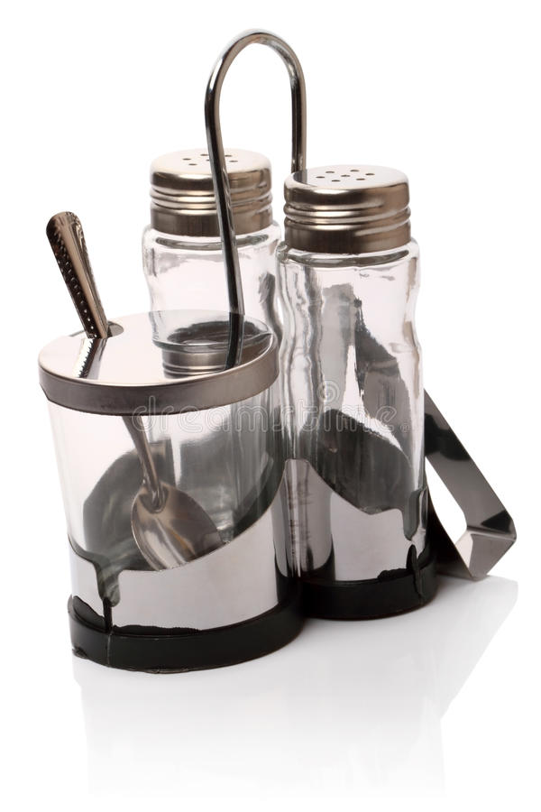 Download Three Empty Shakers Containing Stock Image - Image: 18008219