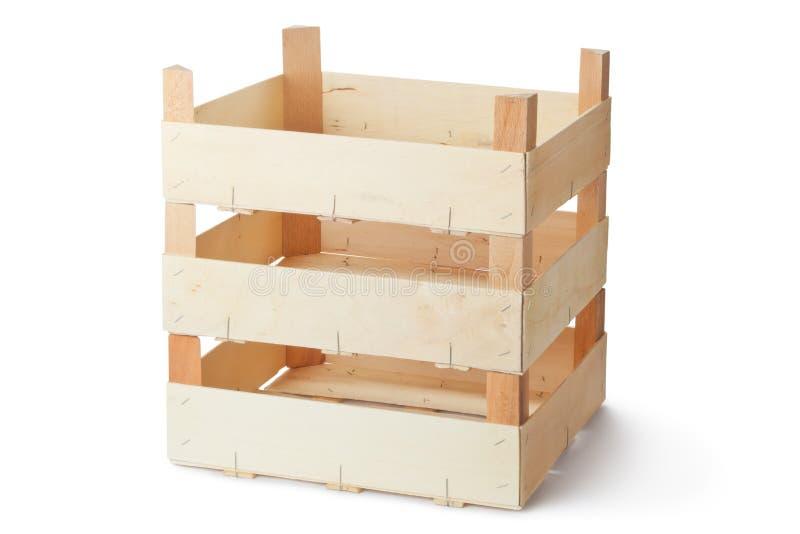 Three Empty Wooden Crates Royalty Free Stock Photos