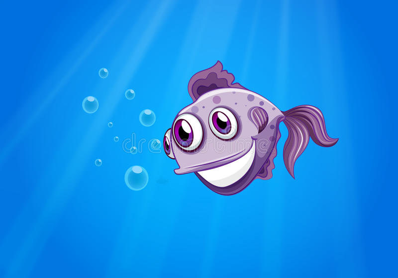 Download A three-eyed fish stock vector. Image of graphic, daytime - 32521538