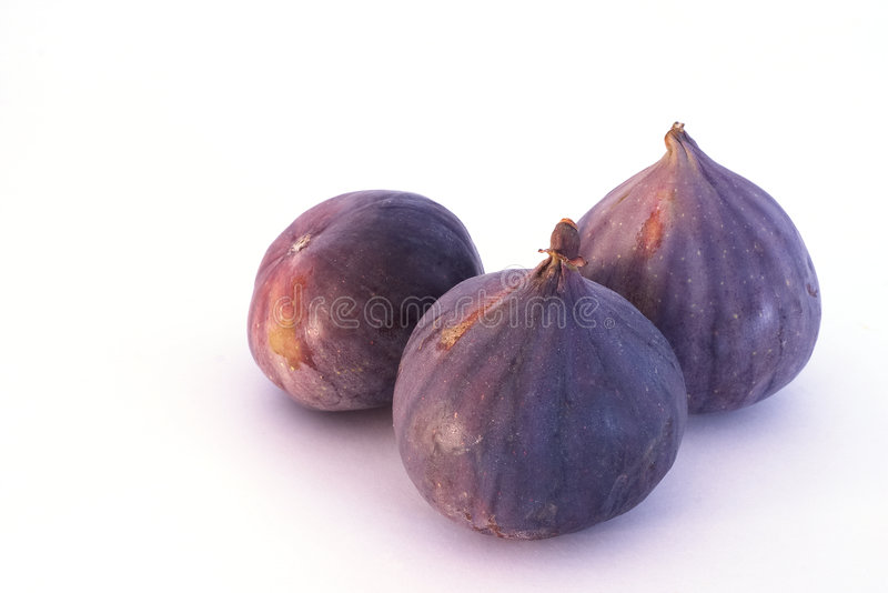 Three figs stock photography