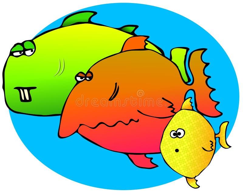 Download Three Fish stock illustration. Image of swim, illustration - 4841107