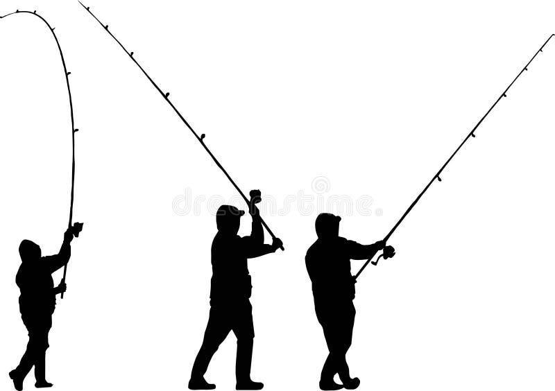 Download Three Fishermen Royalty Free Stock Image - Image: 2588376