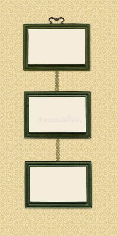Three Frames stock illustration. Illustration of empty - 8675216