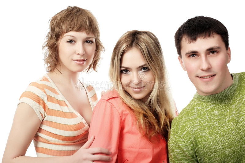 Three Of Friends Royalty Free Stock Images
