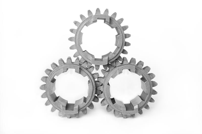Download Three Gears Royalty Free Stock Photography - Image: 12997147