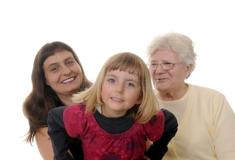 Download Three generations stock image. Image of funny, granny - 14456651