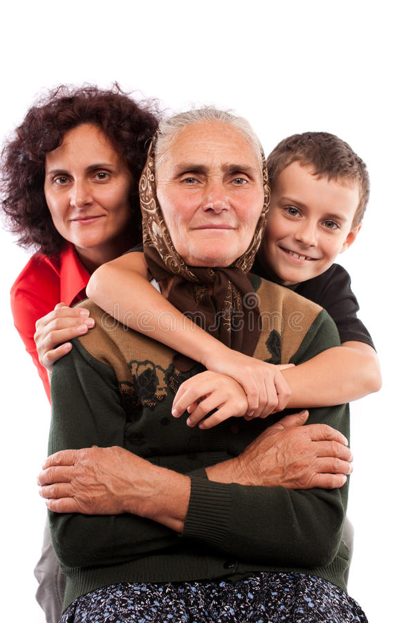 Download Three generations stock image. Image of parent, aging - 16146099