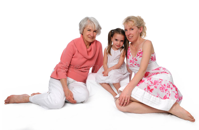Download Three Generations Royalty Free Stock Image - Image: 5170246