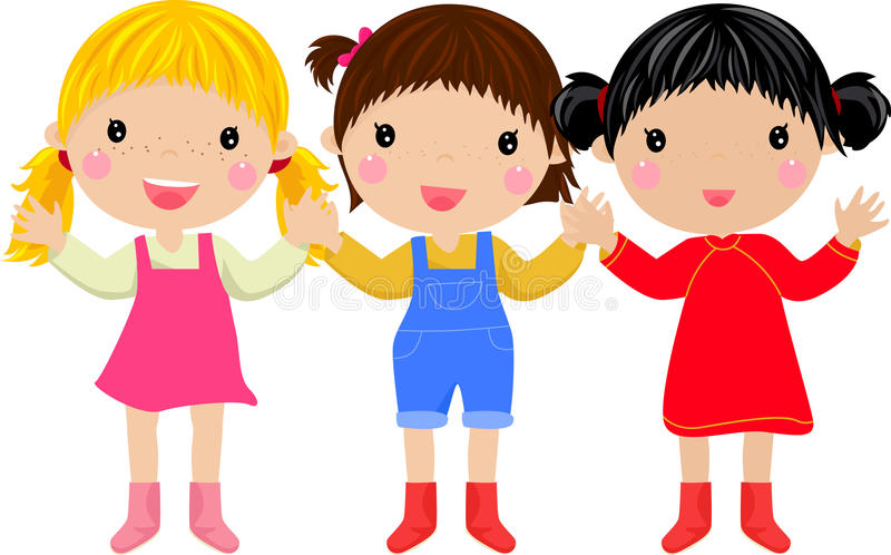 Three girl