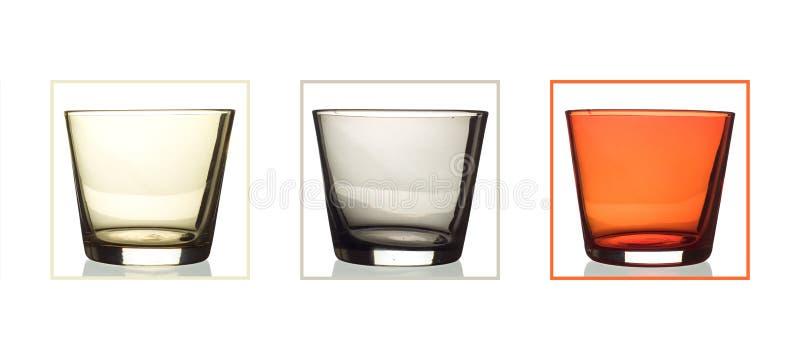 Three glasses royalty free stock photo