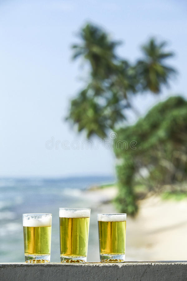 Download Three glasses of bear stock image. Image of beer, glass - 13125249