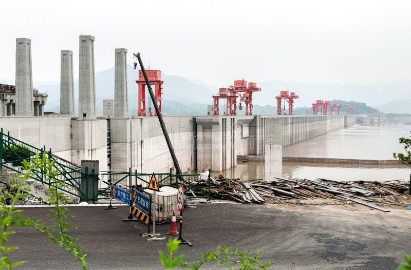 Three Gorge Dam imagenes de archivo