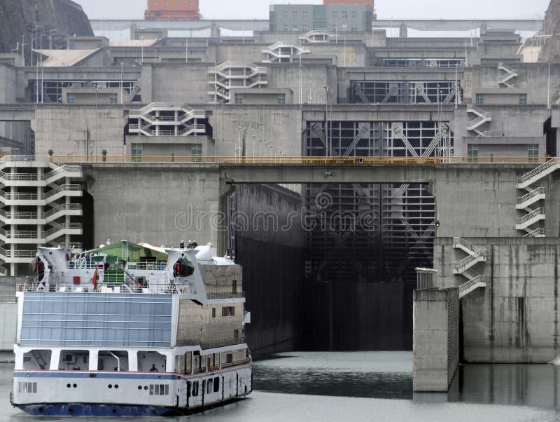 Three Gorge Dam en Chine photo libre de droits