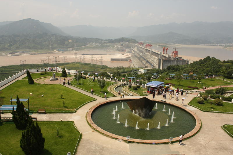 Three Gorges Dam Editorial Stock Photo