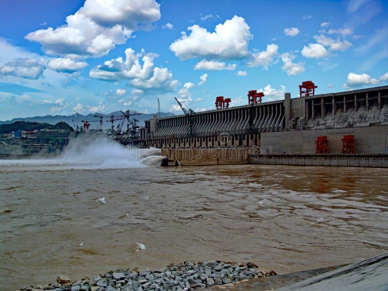 Three Gorges Dam stock image