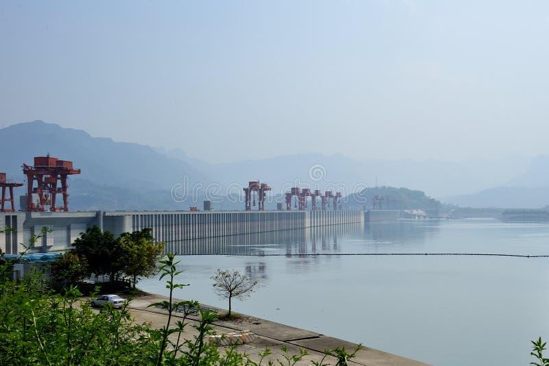 Three Gorges Dam stock photography