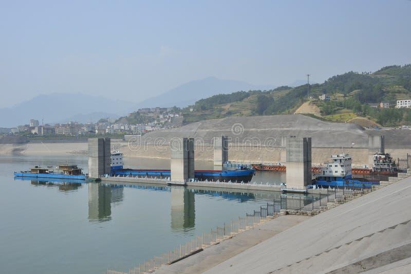 Three Gorges Dam royalty free stock photos